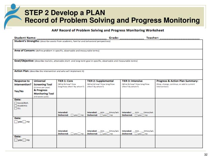 STEP 2 Develop a PLAN