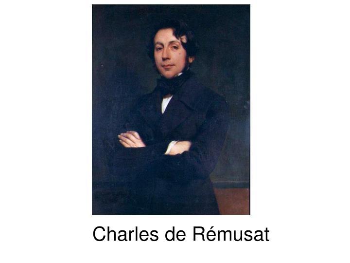 Charles de Rémusat