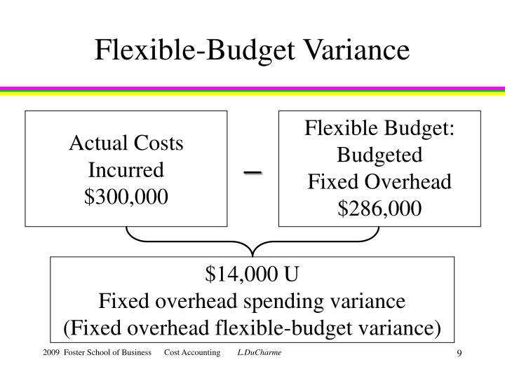 Flexible-Budget Variance