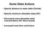 some state actions