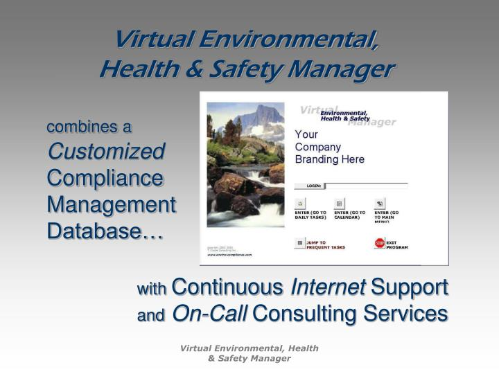 Virtual Environmental,