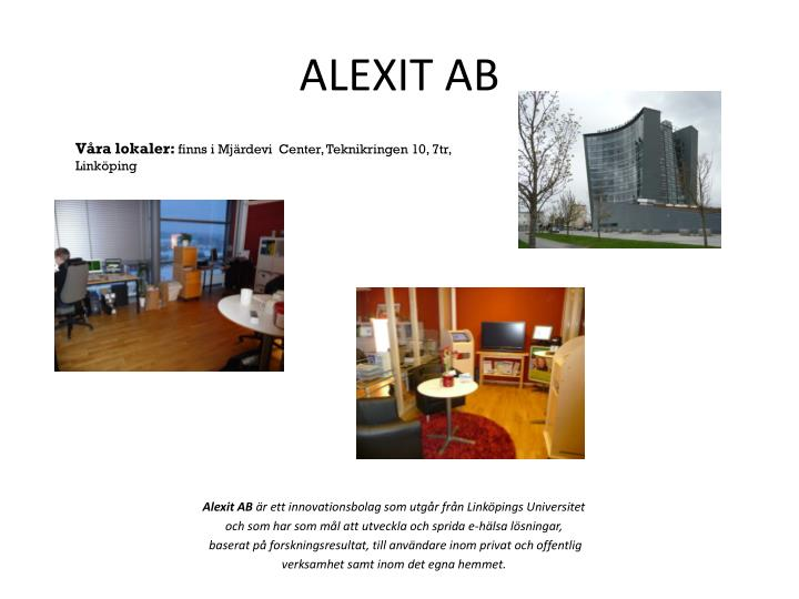 ALEXIT AB