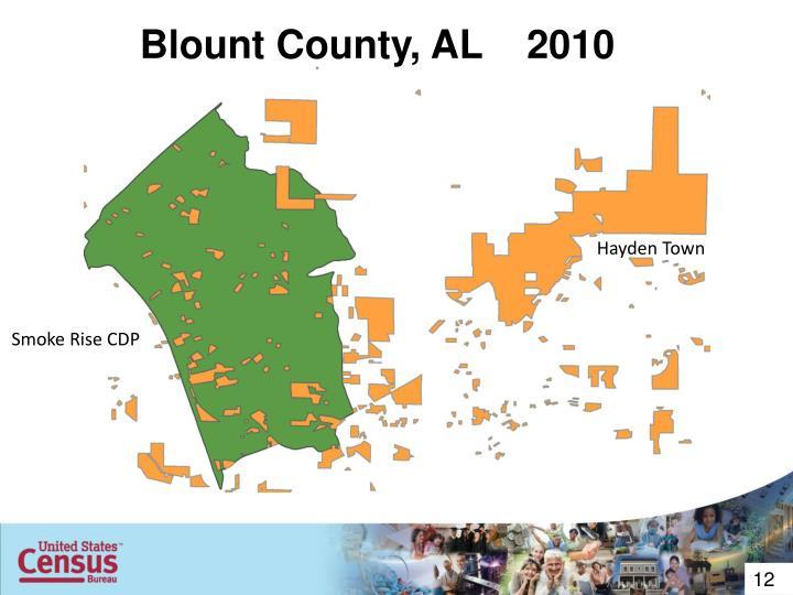 Blount County, AL    2010