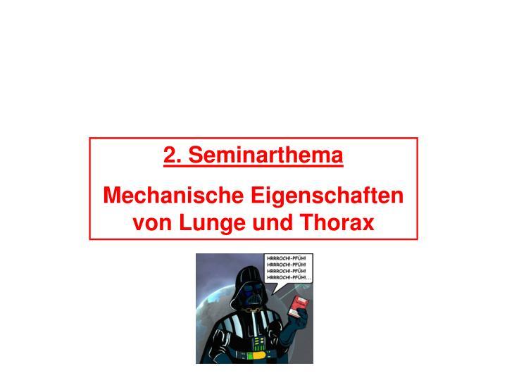 2. Seminarthema