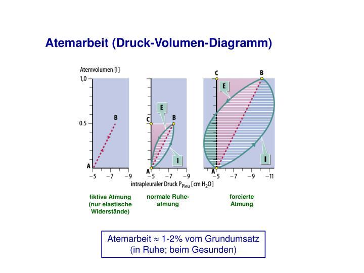 Atemarbeit (Druck-Volumen-Diagramm)