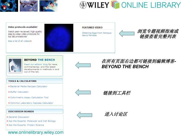 浏览专题视频指南或链接查看完整列表