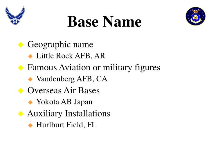 Base Name