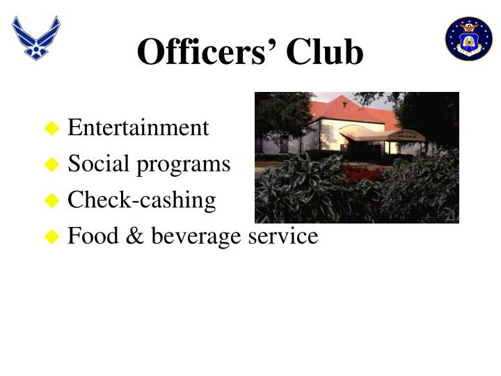 Officers' Club