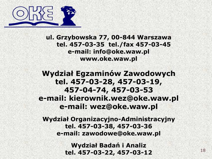 ul. Grzybowska 77, 00-844 Warszawa