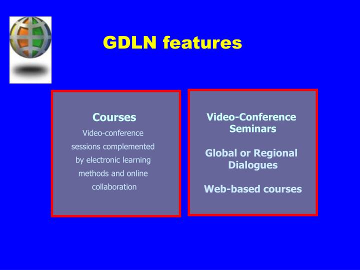 GDLN features