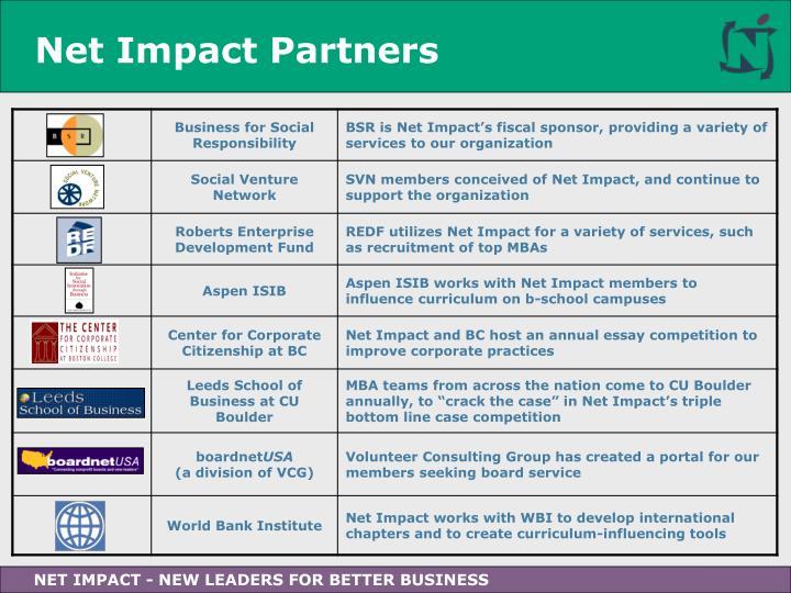 Net Impact Partners