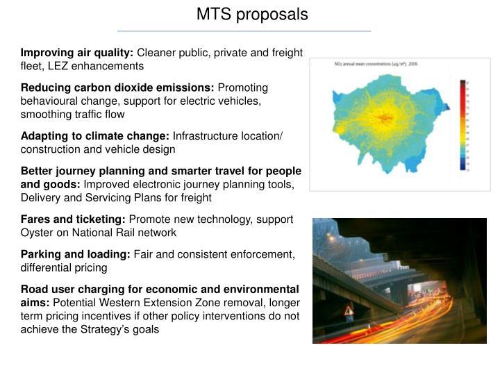 MTS proposals