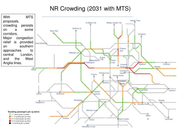 NR Crowding (2031 with MTS)