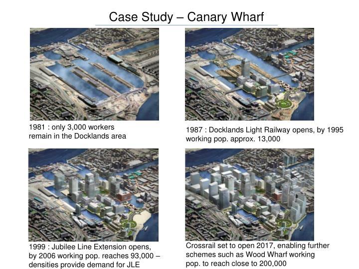 Case Study – Canary Wharf