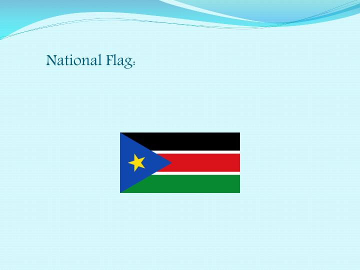 National Flag: