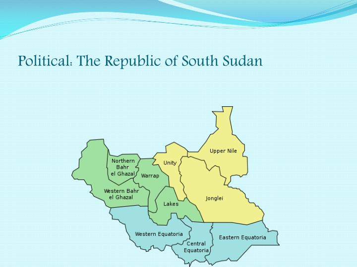 Political the republic of south sudan