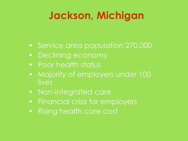 Service area population 270,000