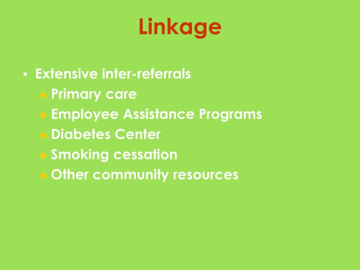 Extensive inter-referrals
