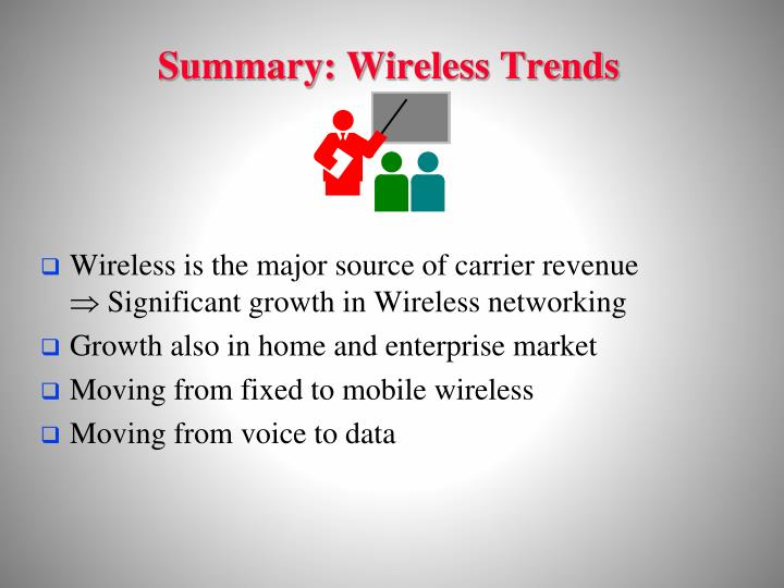 Summary: Wireless Trends