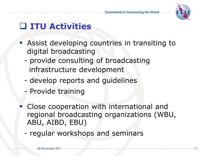 ITU Activities