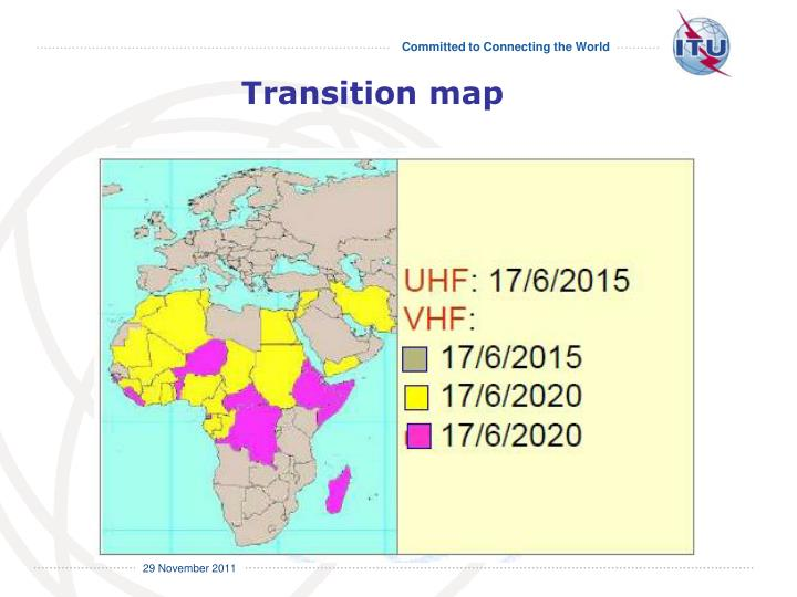 Transition map