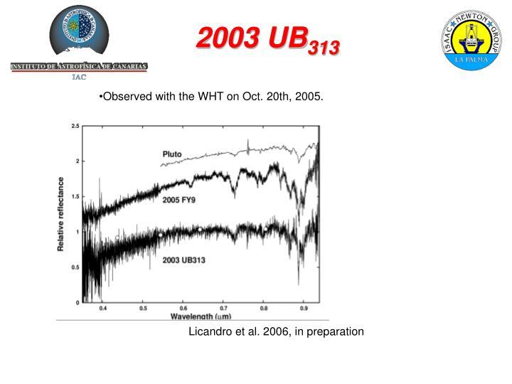 2003 UB