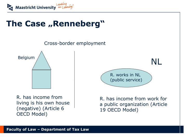 "The Case ""Renneberg"""