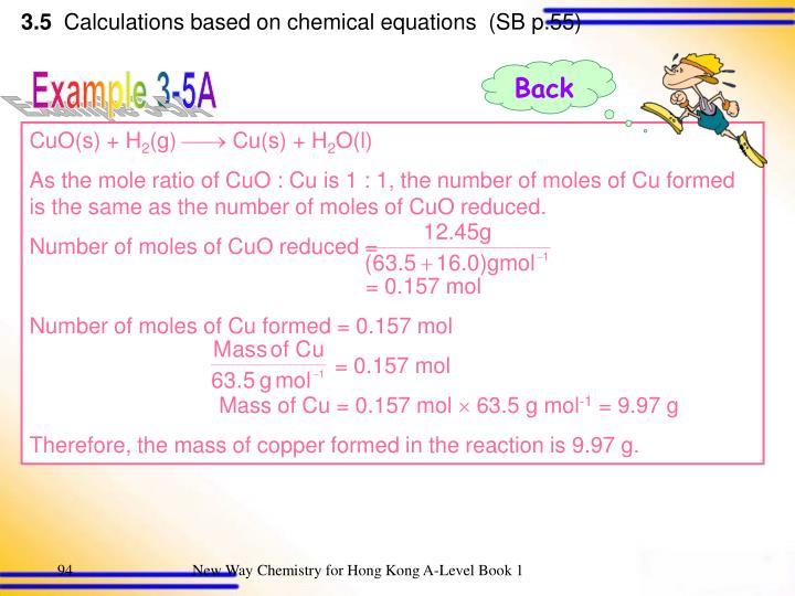 CuO(s) + H