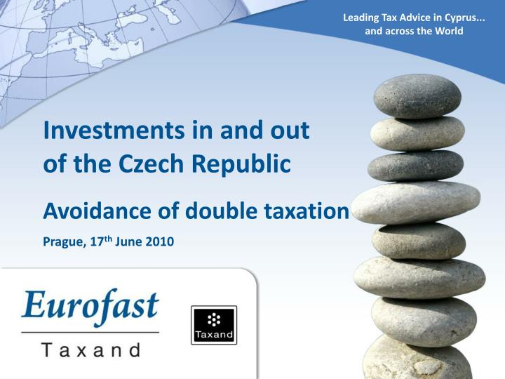 Leading Tax Advice in Cyprus...