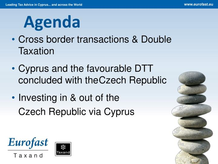 Cross border transactions & Double Taxation