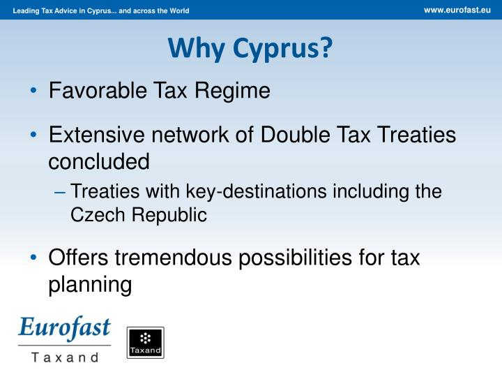 Why Cyprus?