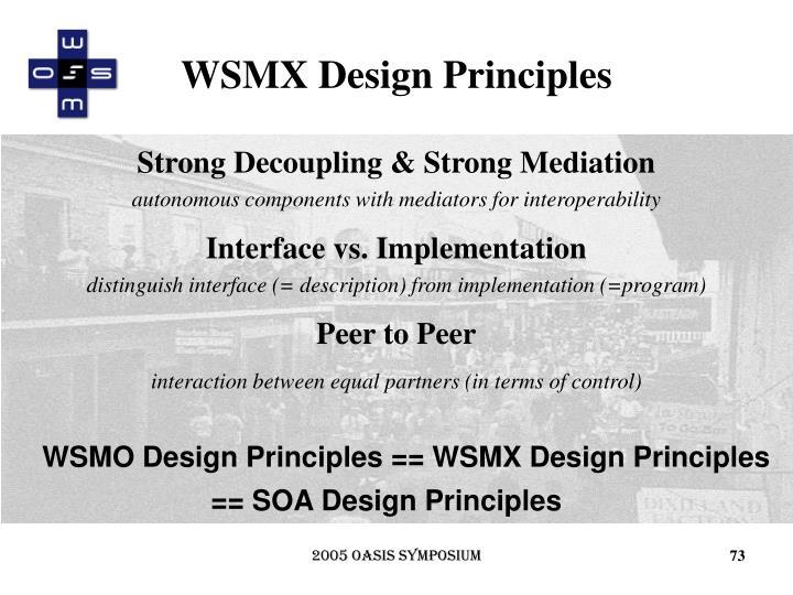 WSMX Design Principles