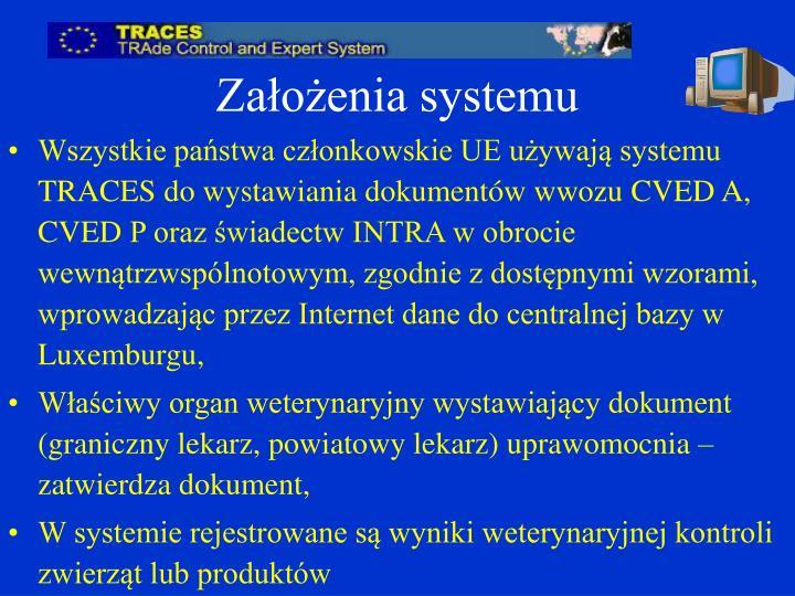 Założenia systemu
