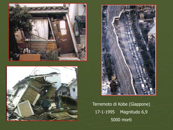 Terremoto di Kobe (Giappone)