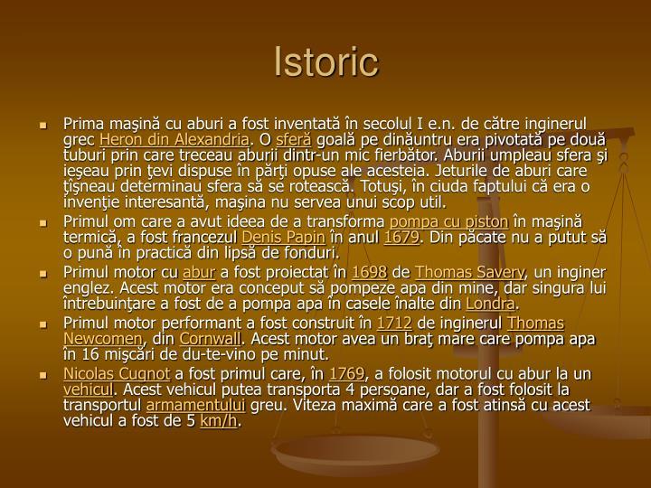 Istoric
