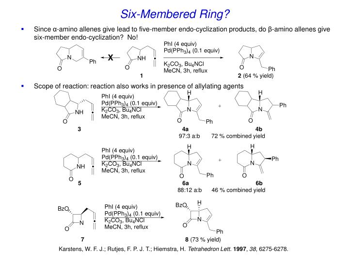 Six-Membered Ring?