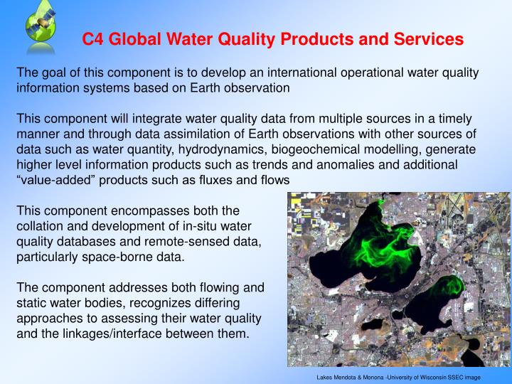 C4 Global Water Quality Products and Services