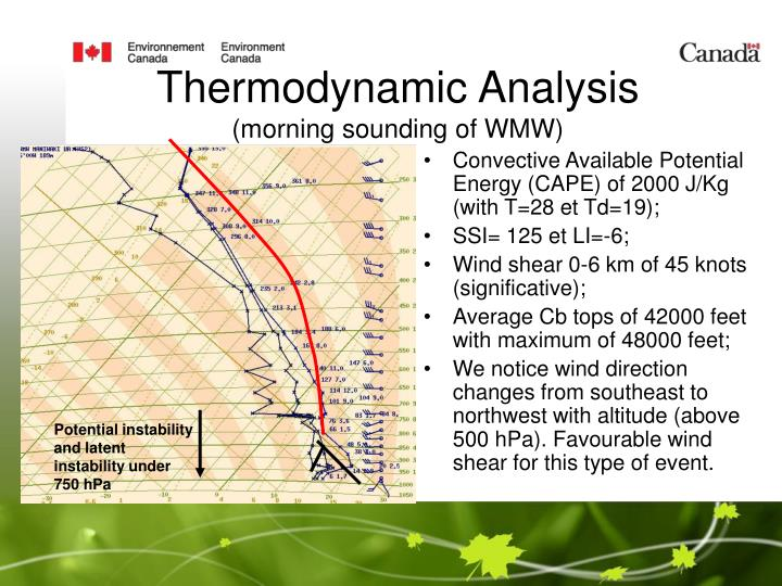 Thermodynamic Analysis