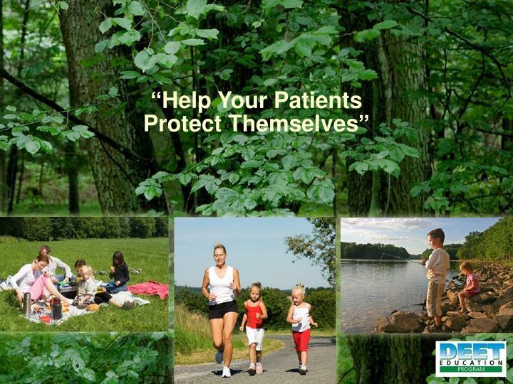 """""""Help Your Patients"""
