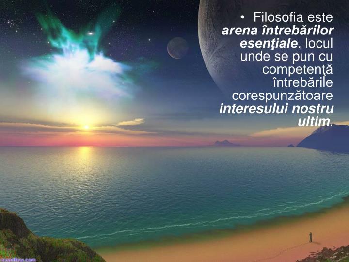 Filosofia este