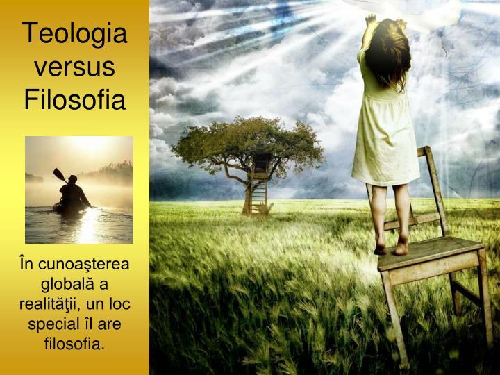 Teologia versus Filosofia
