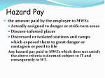 hazard pay