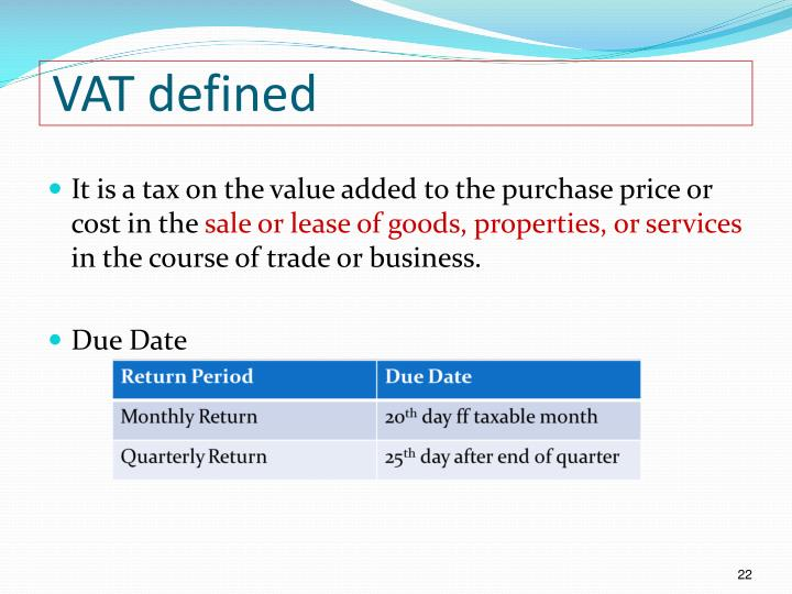 VAT defined