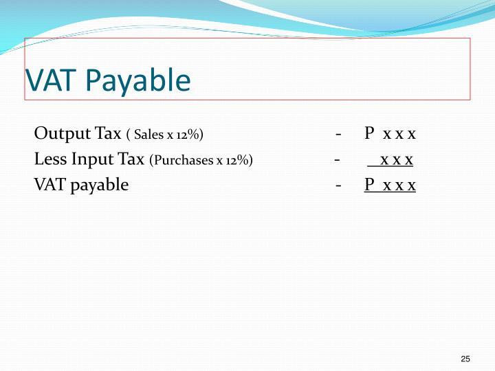 VAT Payable