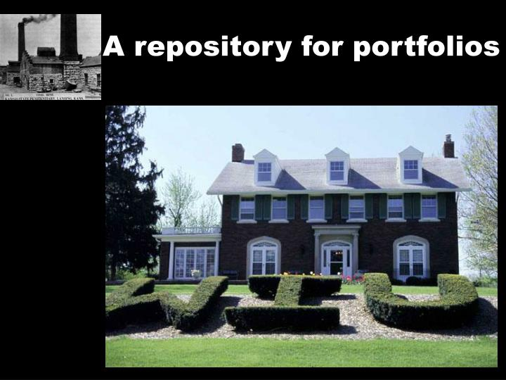 A repository for portfolios