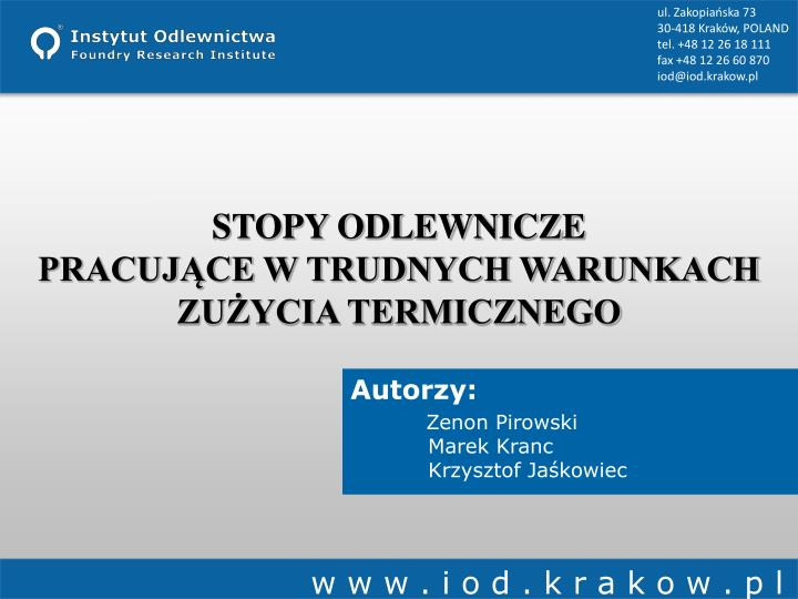 ul. Zakopiańska 73