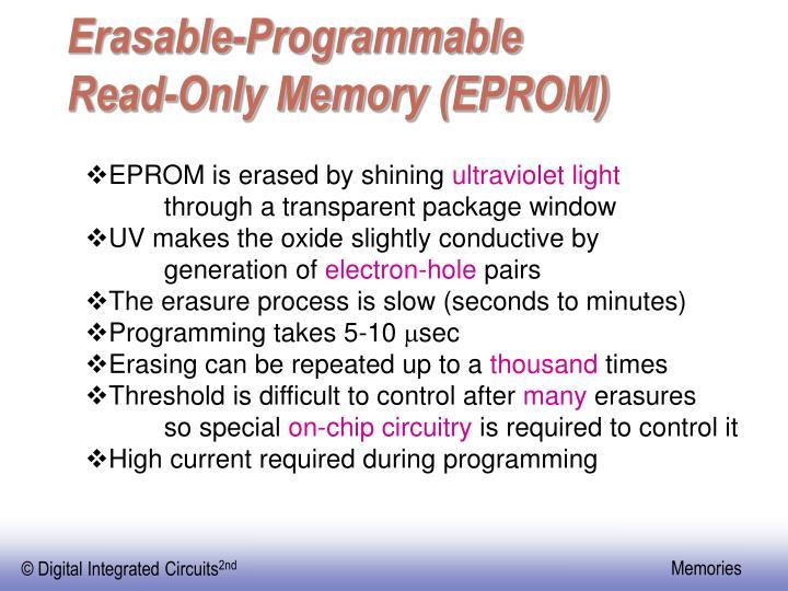 Erasable-Programmable