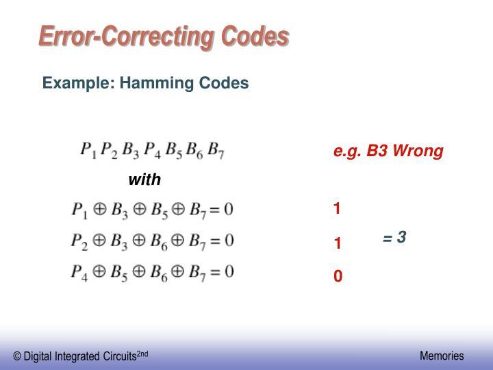 e.g. B3 Wrong