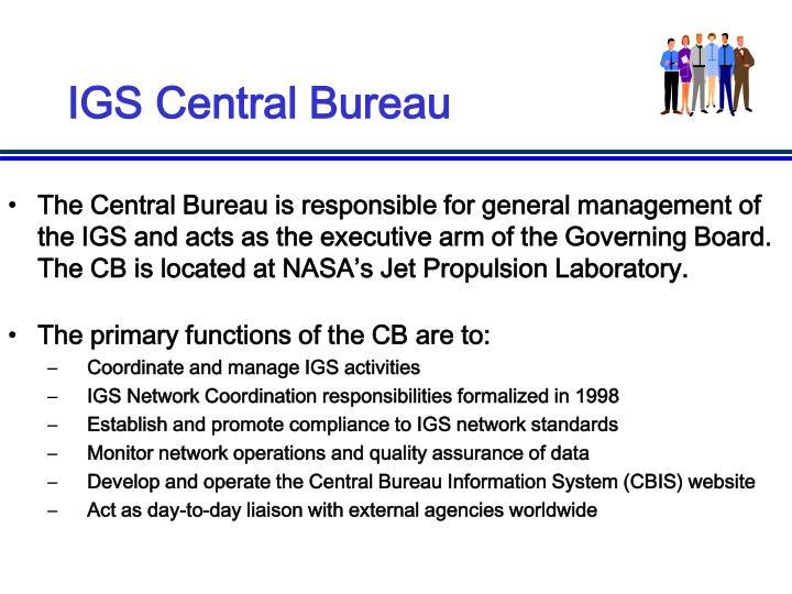 IGS Central Bureau