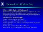 national job shadow day1